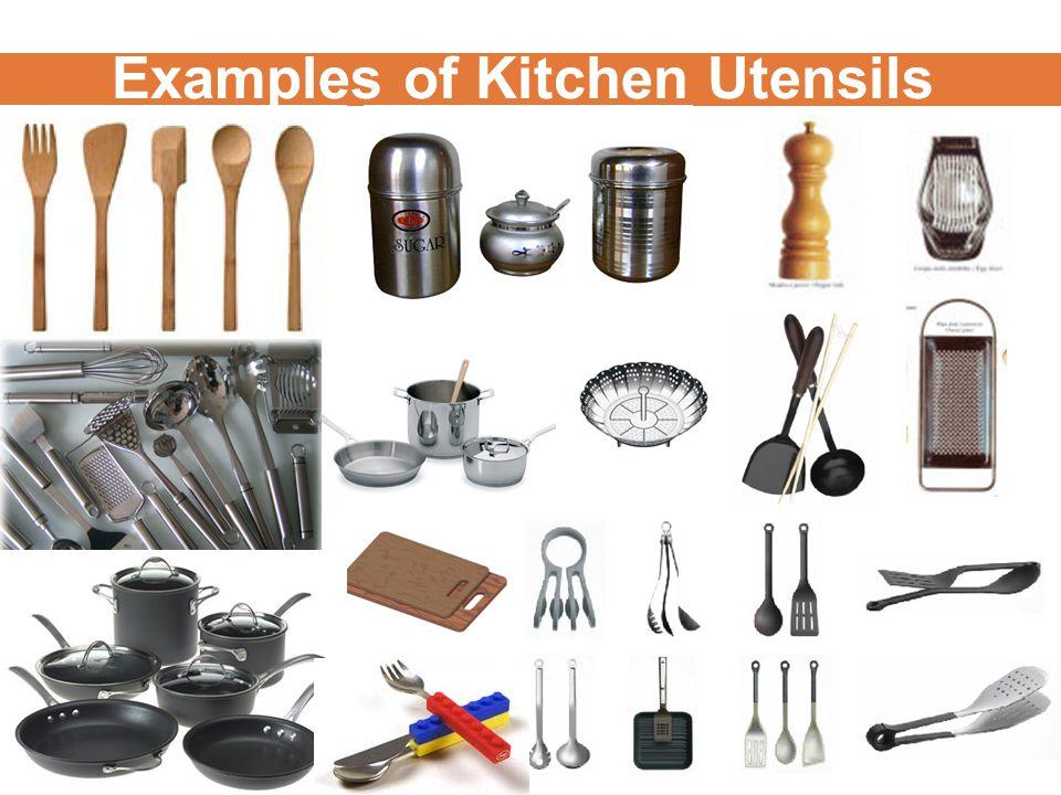 Examples of Kitchen Utensils
