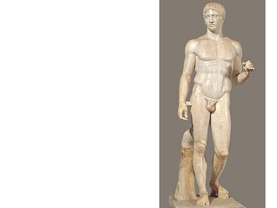 Warrior, from the sea off Riace, Italy, ca.460–450 BCE.