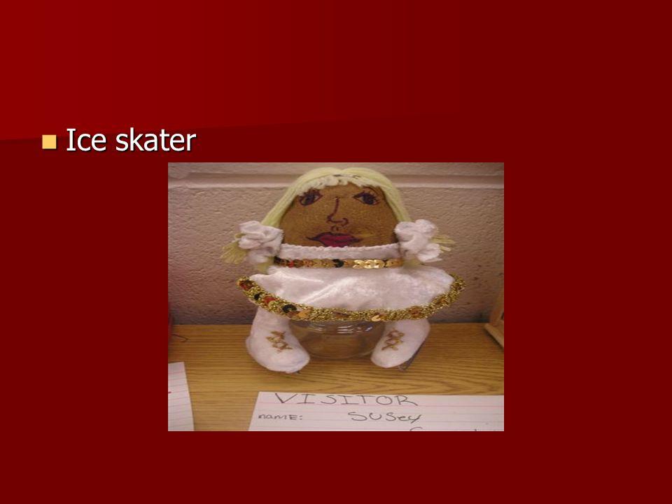 Ice skater Ice skater