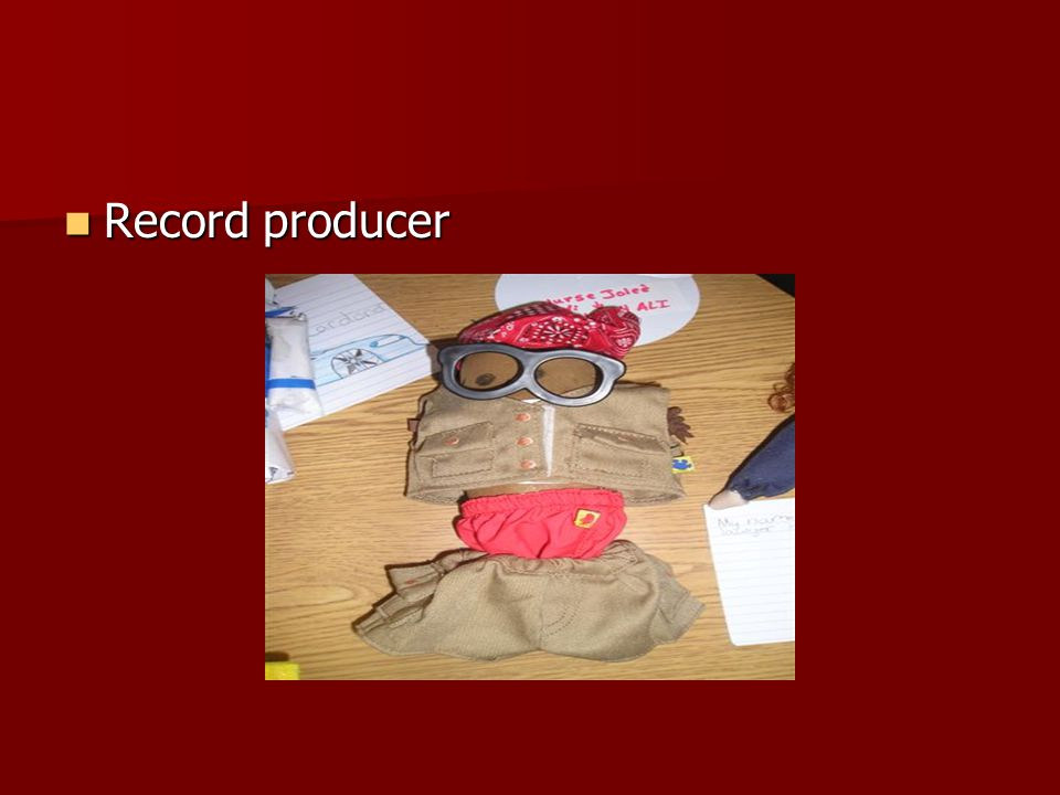 Record producer Record producer