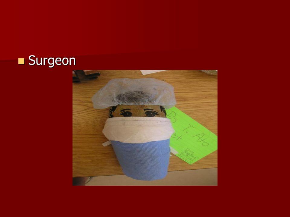 Surgeon Surgeon