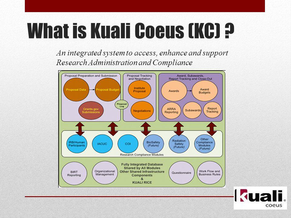 What is Kuali Coeus (KC) .