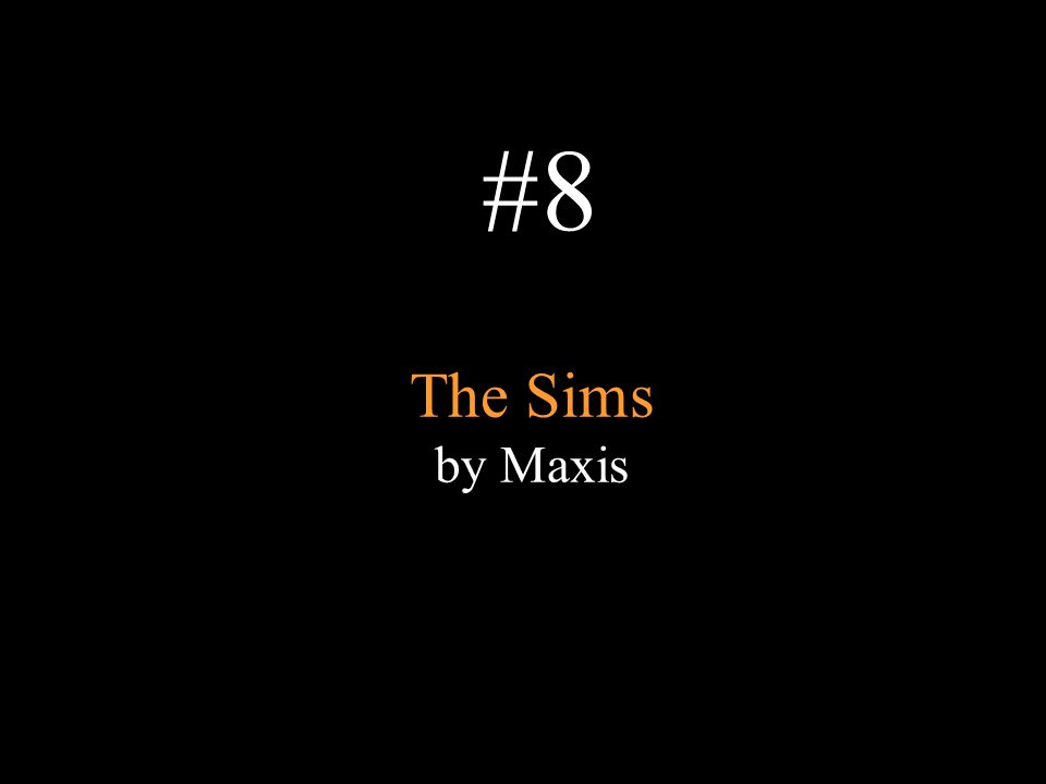 The Sims by Maxis #8