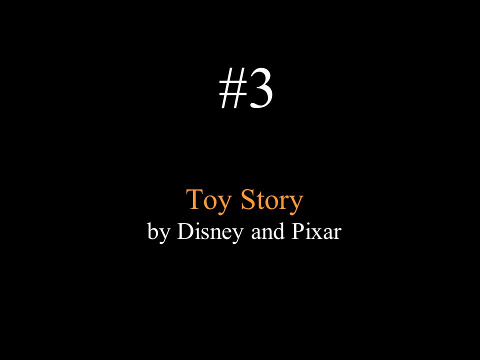 Toy Story by Disney and Pixar #3