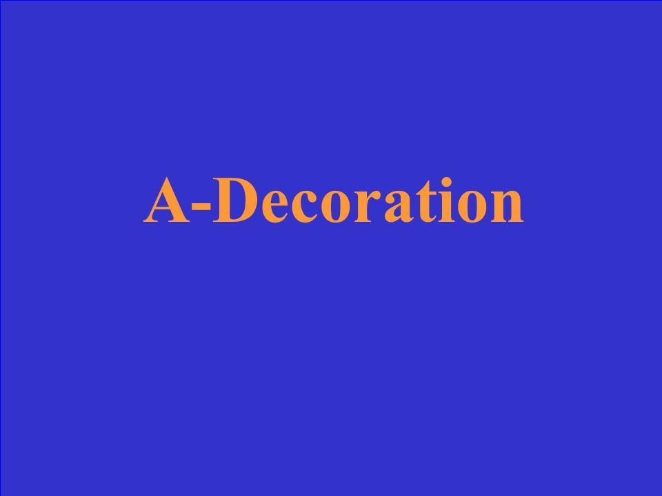 A-Decoration