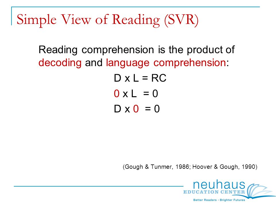 Reading Comprehension Screenings Screenings to be used in conjunction with other assessments in isolating specific difficulties with reading comprehension.