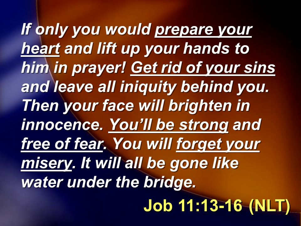 Ways We Prepare To Be Used By God 1.I Must Prepare My Heart 2.I Must Simplify My Schedule 3.I Must Strengthen My Faith 4.I Must Intensify My Passion For God 1.I Must Prepare My Heart 2.I Must Simplify My Schedule 3.I Must Strengthen My Faith 4.I Must Intensify My Passion For God