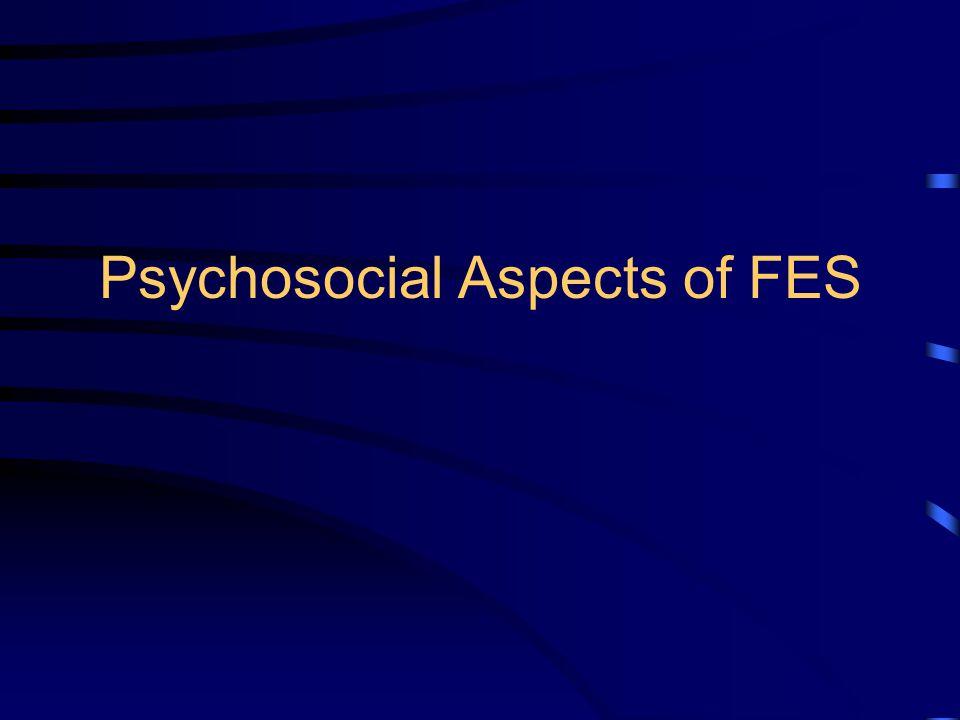 Psychosocial Aspects of FES