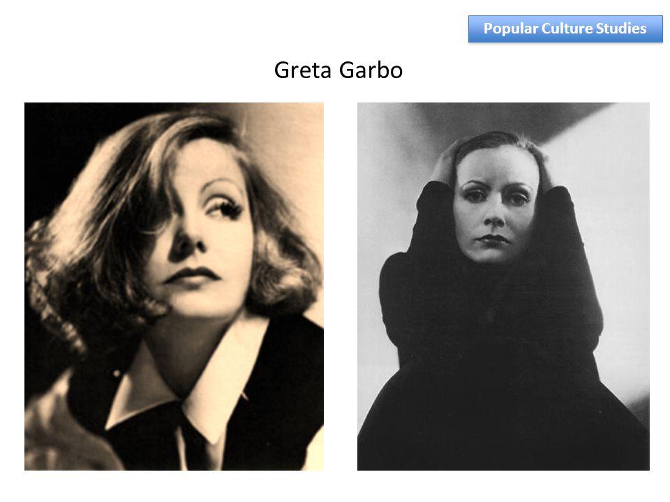 Greta Garbo Popular Culture Studies