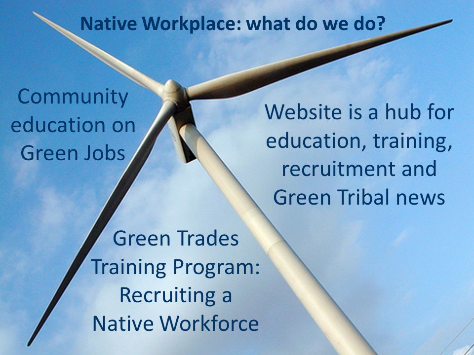 Native Workplace: what do we do.