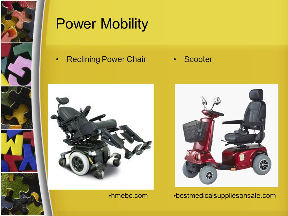 Power Mobility Reclining Power ChairScooter hmebc.combestmedicalsuppliesonsale.com