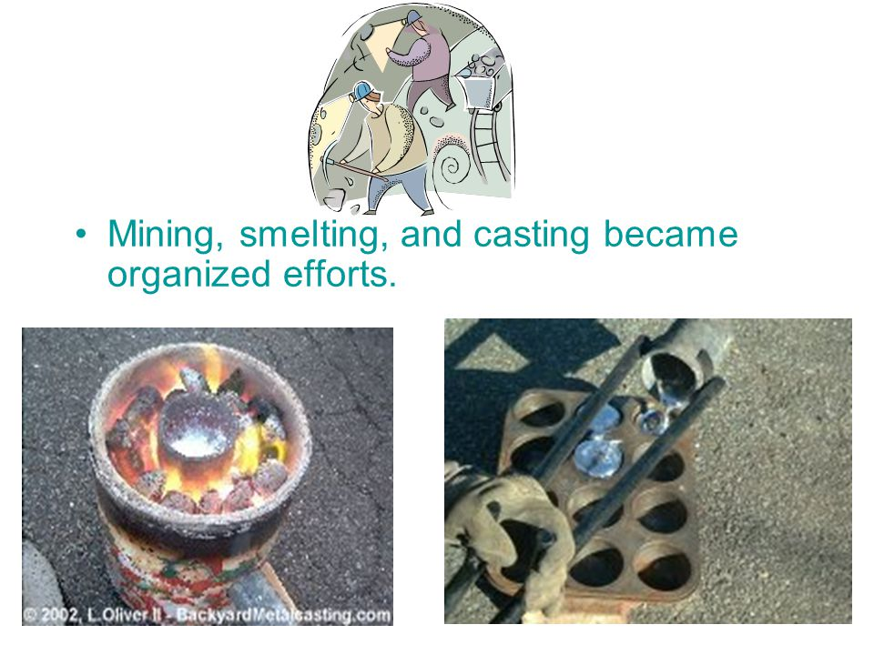 The Bronze Age The Stone Age developed into the Bronze Age. During this period in the development of technology is when metals were first used regular
