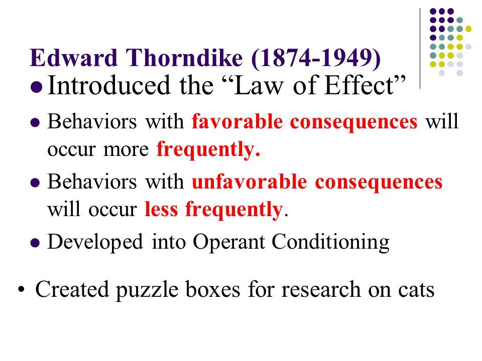 Thorndike's Puzzle Box: http://www.youtube.com/watch?v=BDujDOLre-8