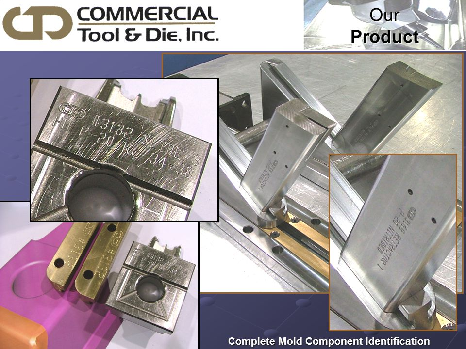 Our Product Complete Mold Component Identification Complete Mold Component Identification