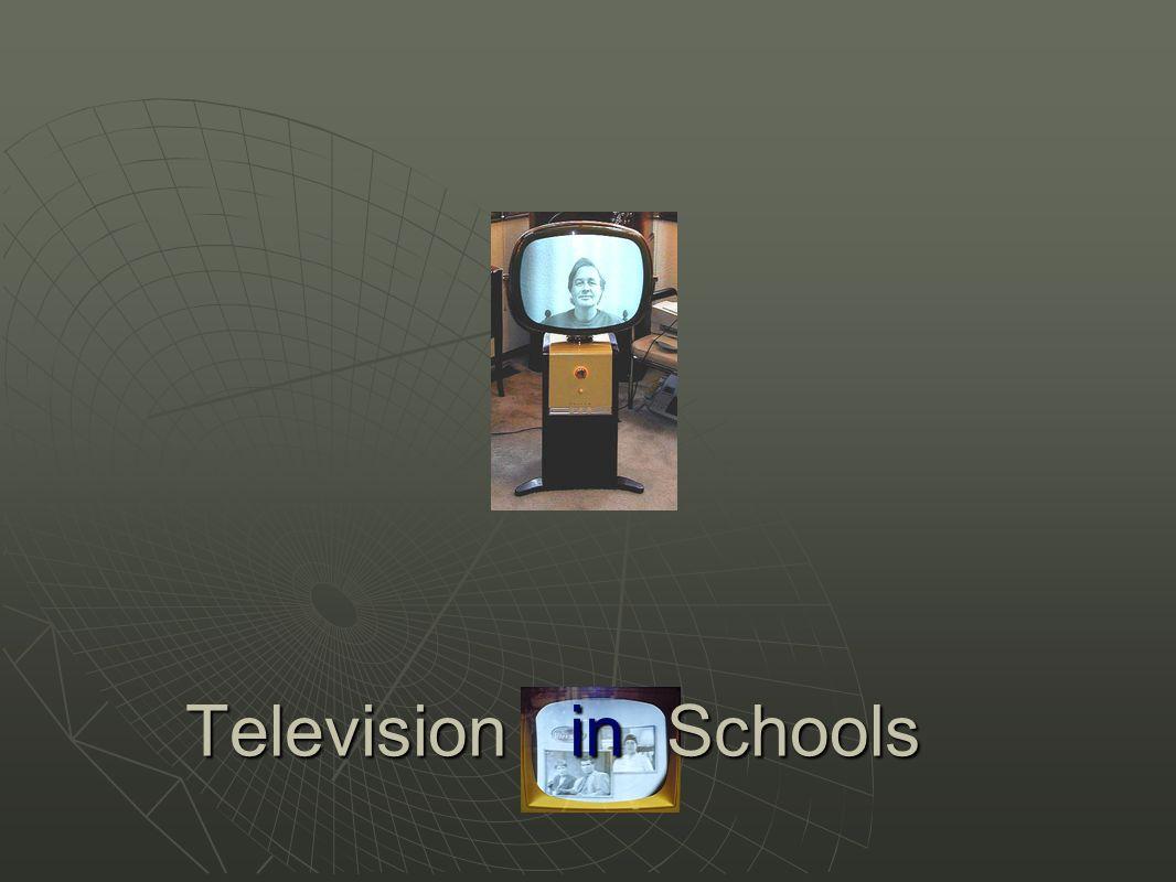 Television in Schools