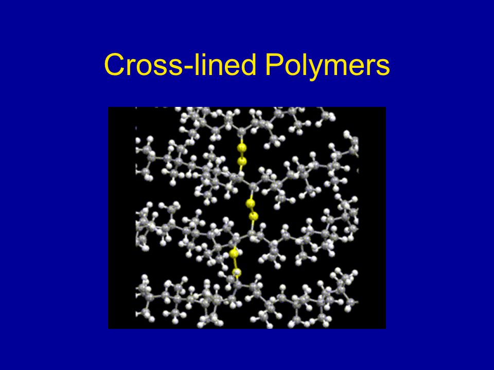 Cross-lined Polymers