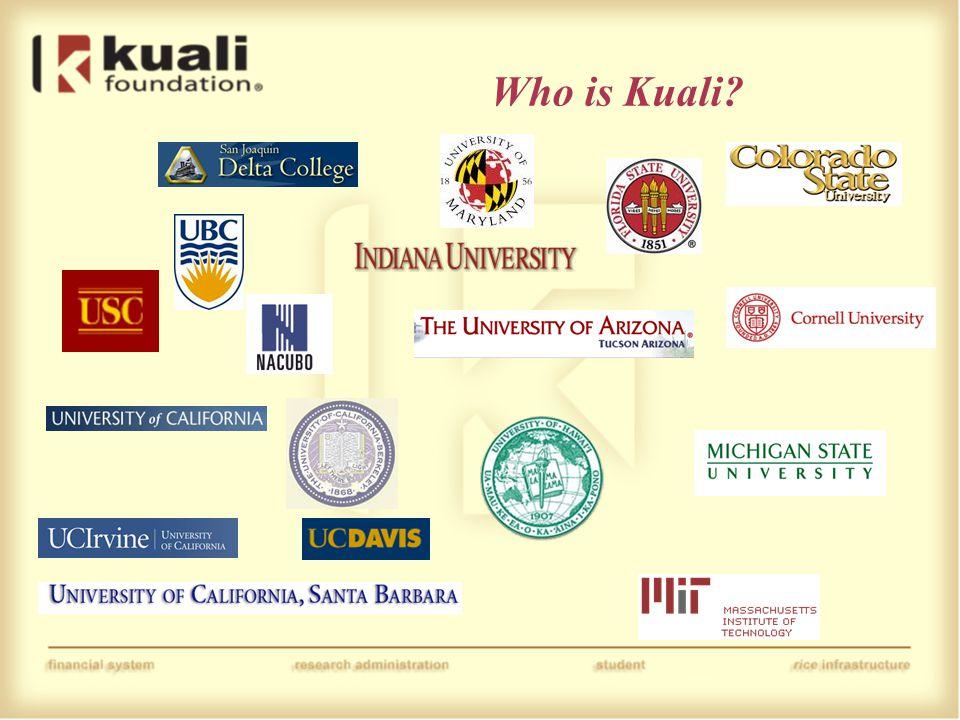 Who is Kuali?