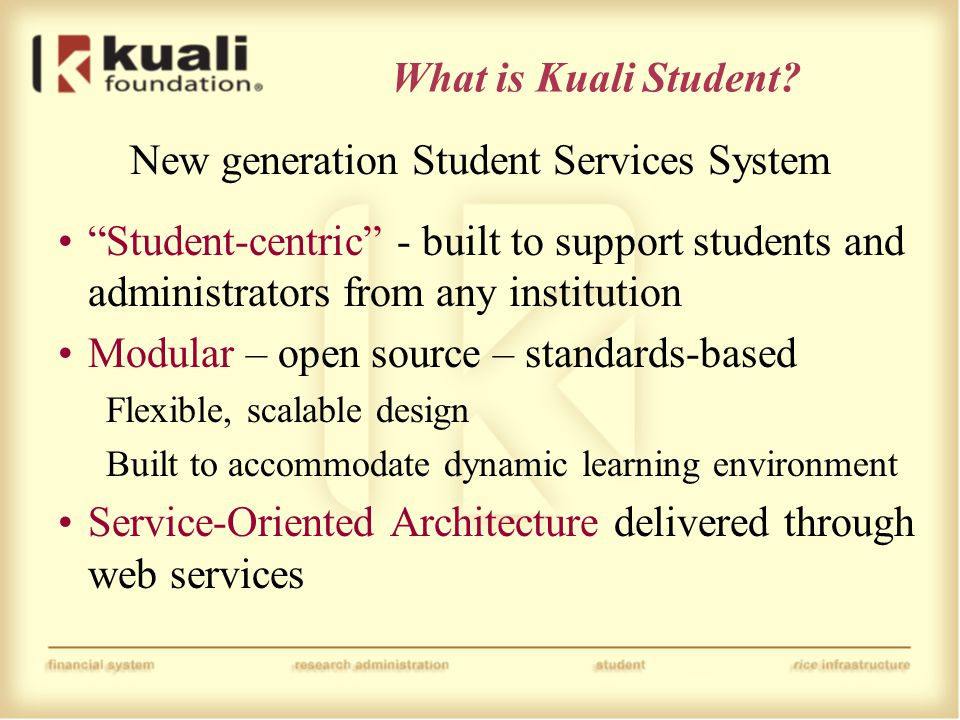What is Kuali Student.