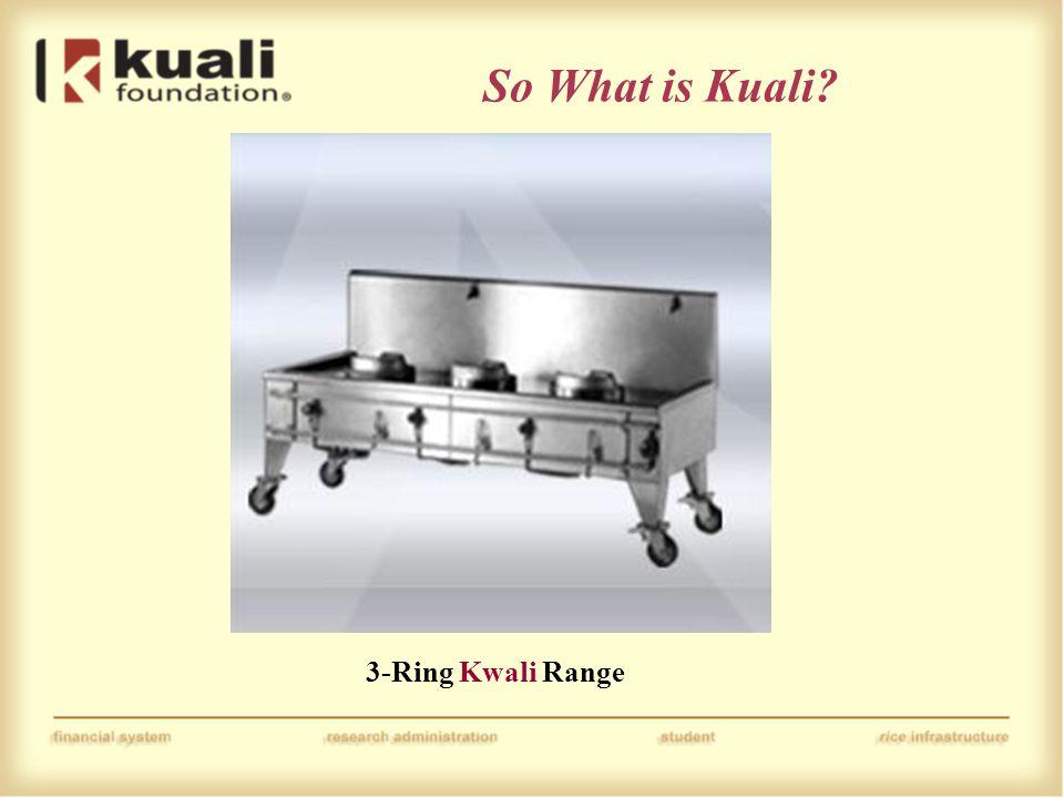 3-Ring Kwali Range