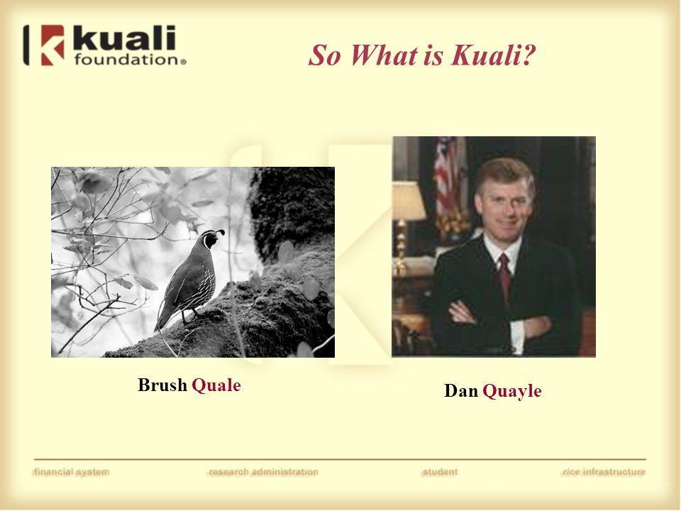 Brush Quale Dan Quayle
