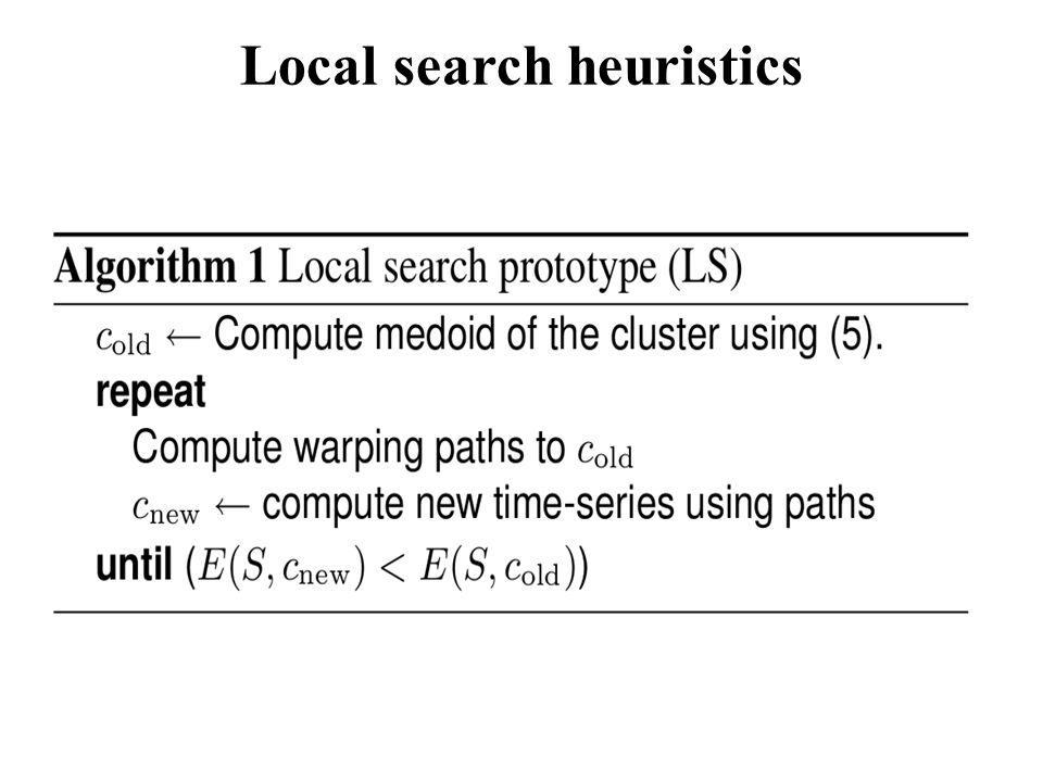 Local search heuristics