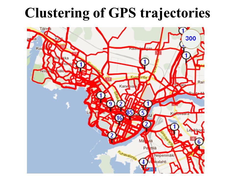 Clustering of GPS trajectories