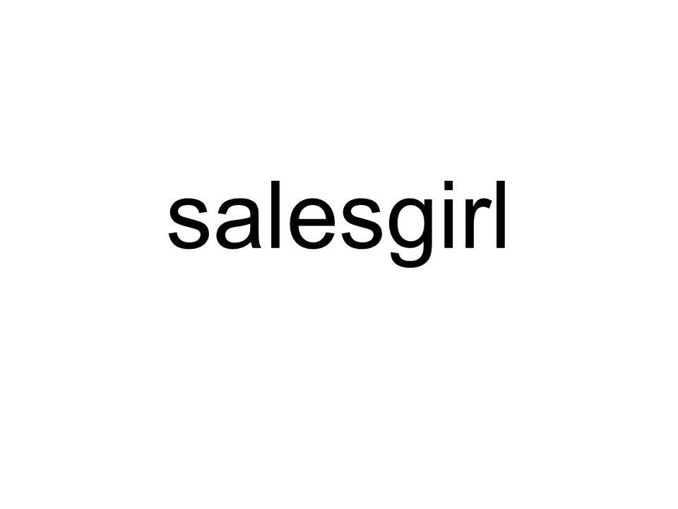 salesgirl