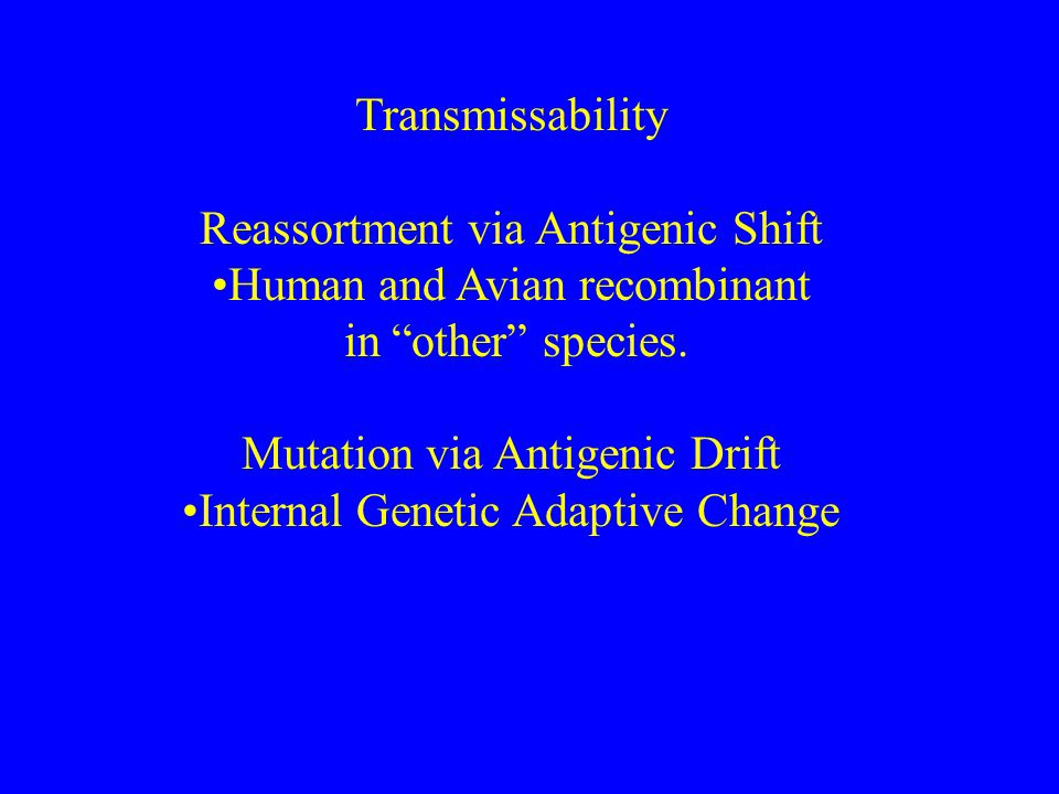 PATHOGENICITY VS TRANSMISSABILITY