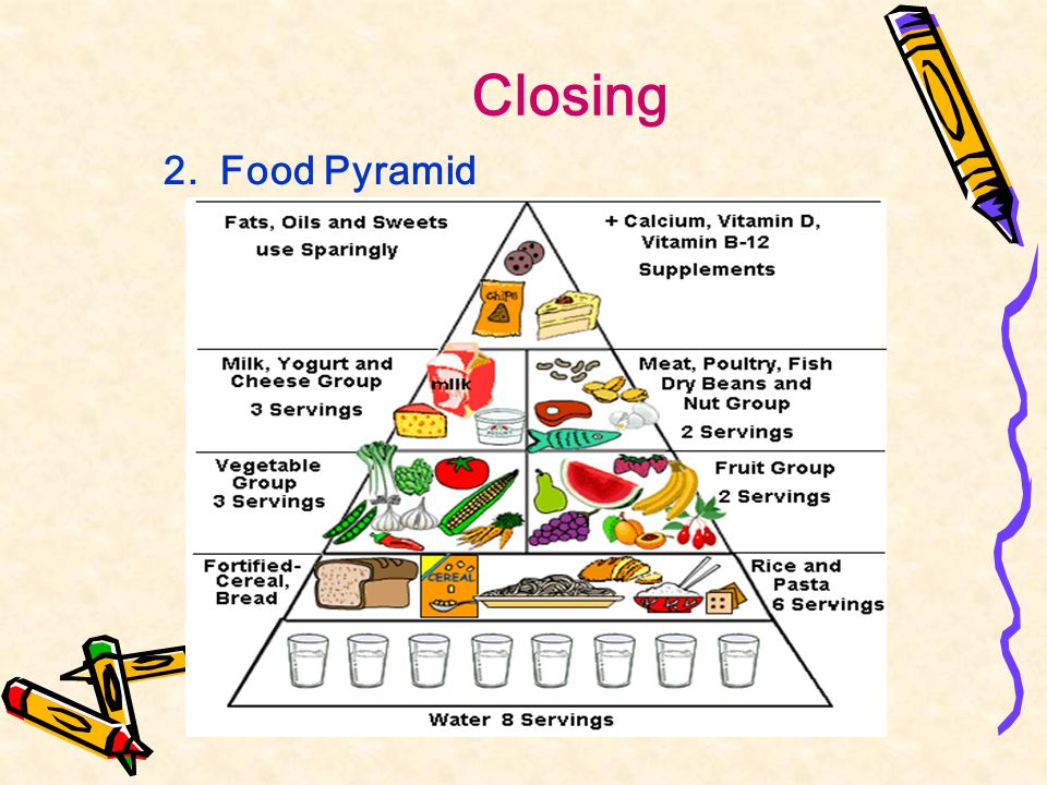 Closing 2. Food Pyramid
