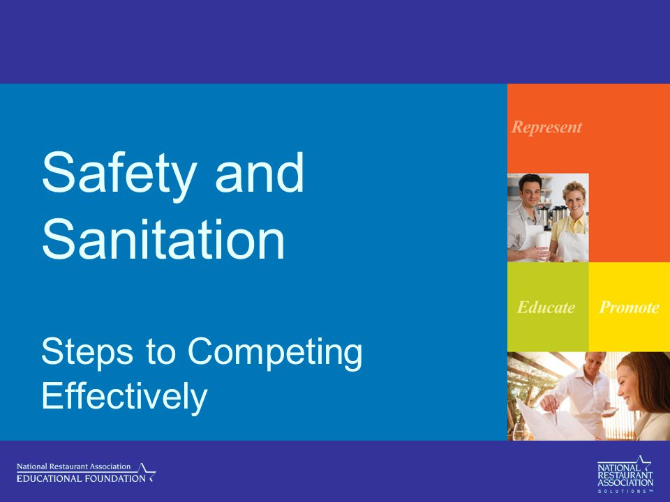 Safety and Sanitation Steps to Competing Effectively
