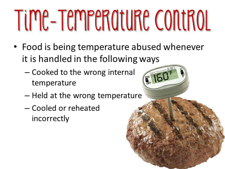 The most important tool you have to monitor temperature is the thermometer.