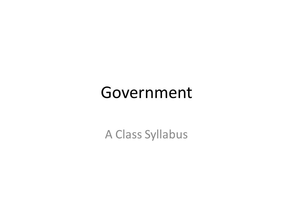 Course Objectives The student will demonstrate a knowledge of Missouri's governmental history and constitution.