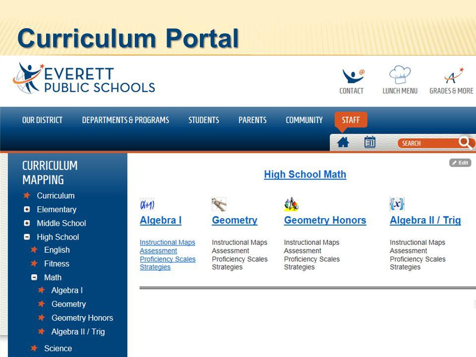 29 Curriculum Portal