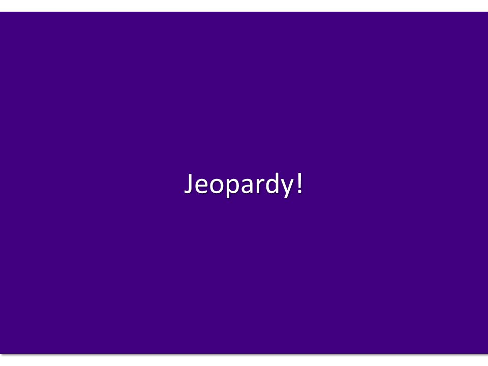 Jeopardy!Jeopardy!