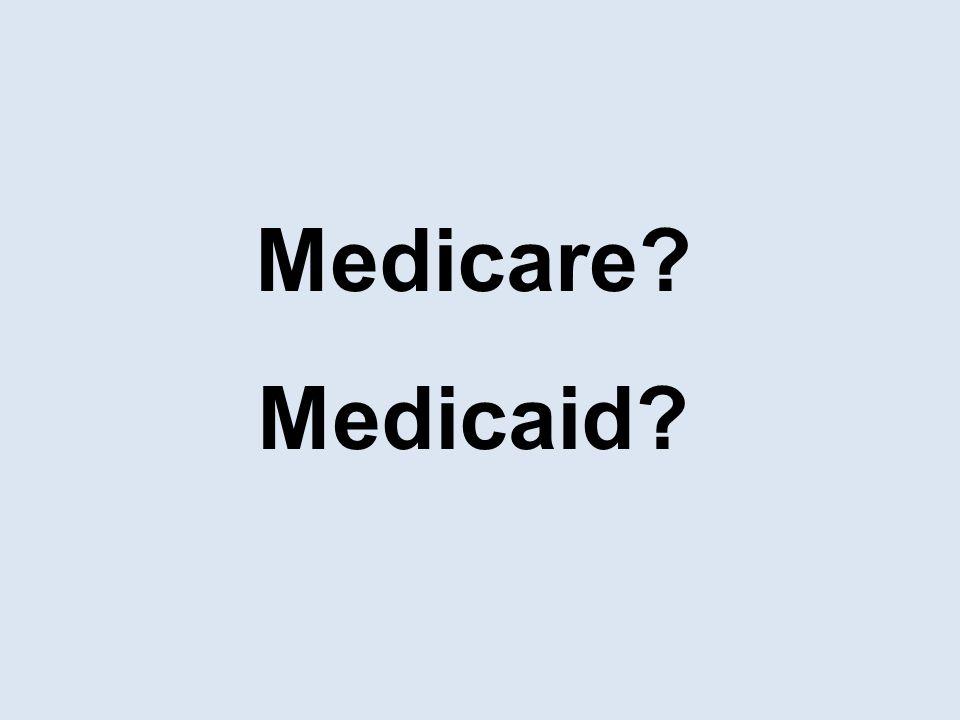 Medicare Medicaid