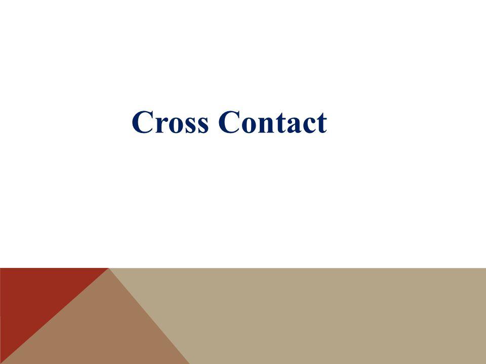 Cross Contact
