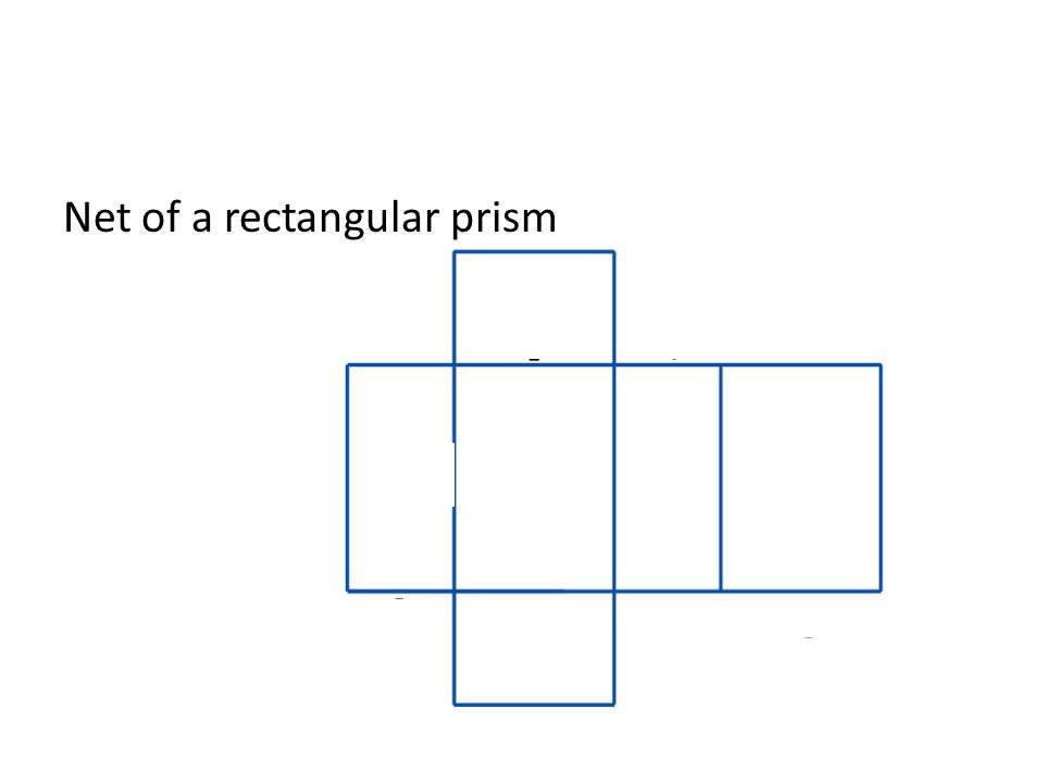 Net of a rectangular prism