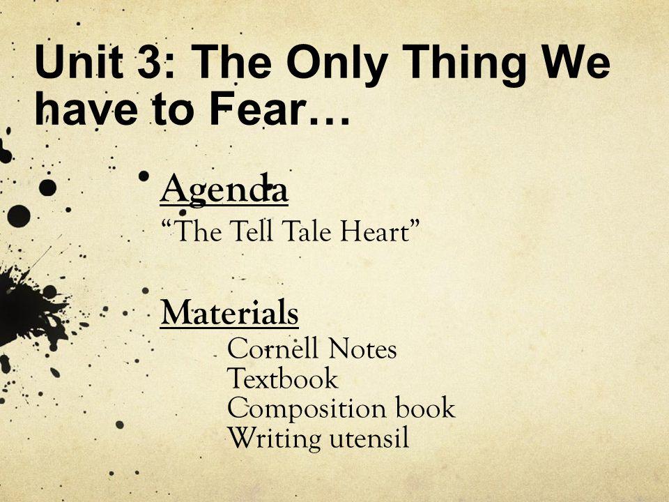 Homework write it down.