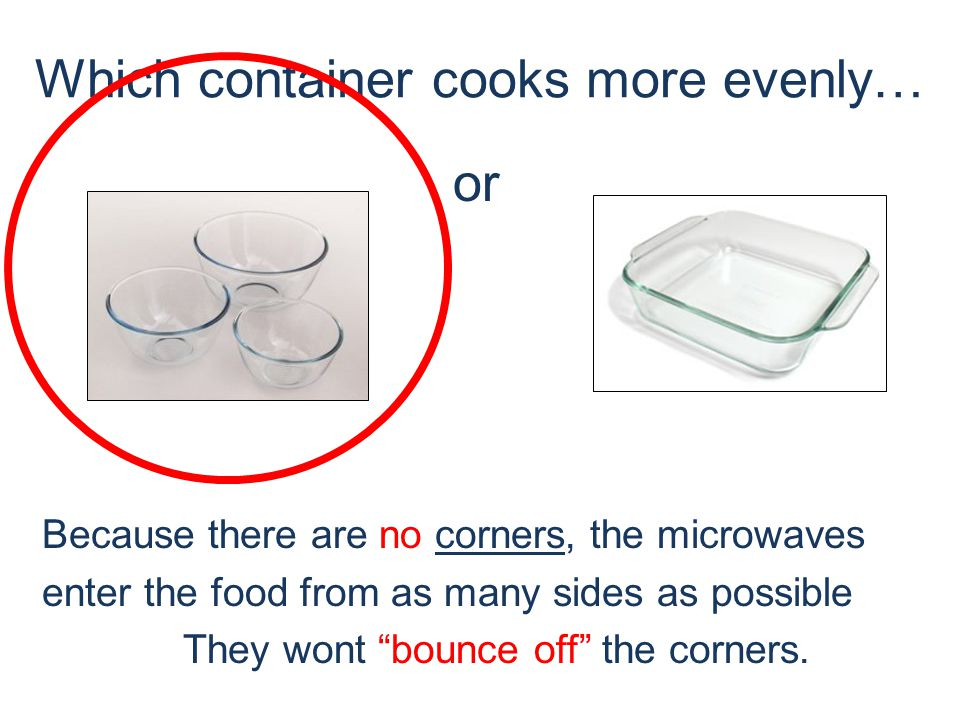 Which container cooks more evenly… ROUND or Why?!.