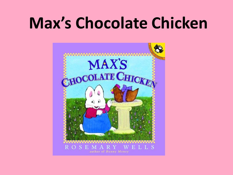 Characters Max - Ruby - Max's sister