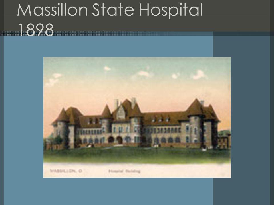 Massillon State Hospital 1898
