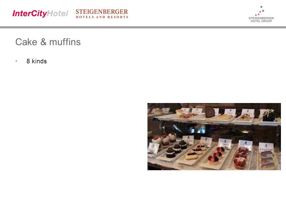 Cake & muffins 8 kinds