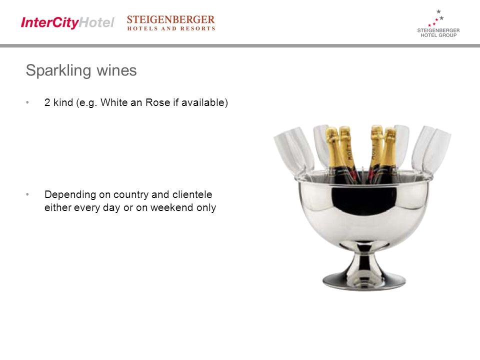 Sparkling wines 2 kind (e.g.
