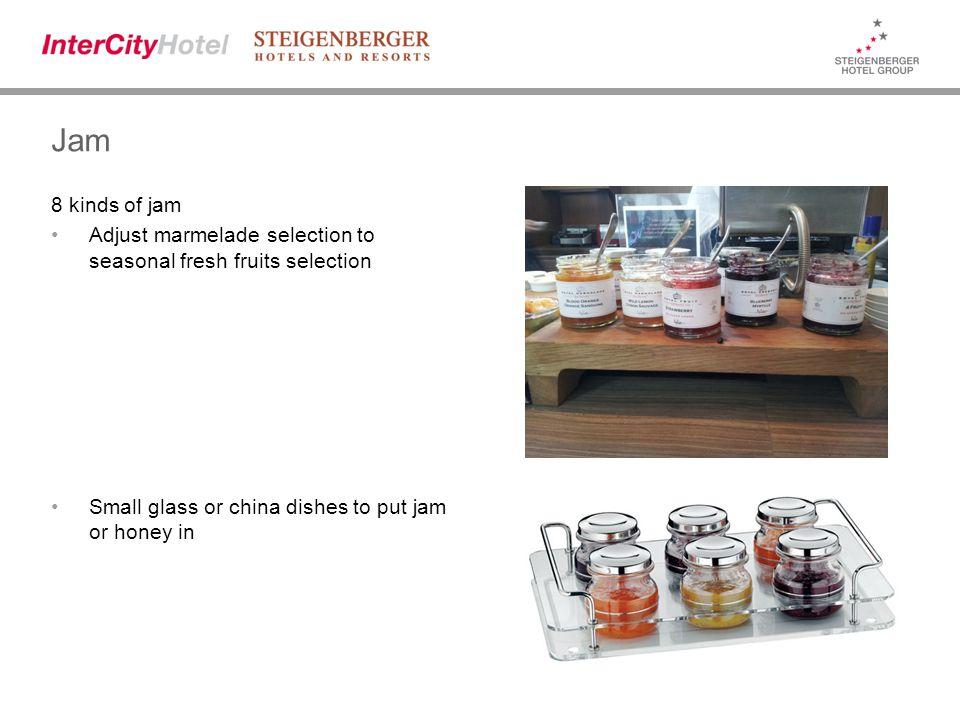 Alternative for Jam (service at table) Alternatively Jam (incl.