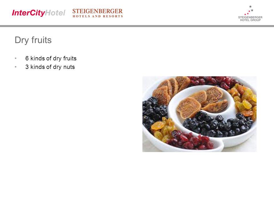 Dry fruits 6 kinds of dry fruits 3 kinds of dry nuts