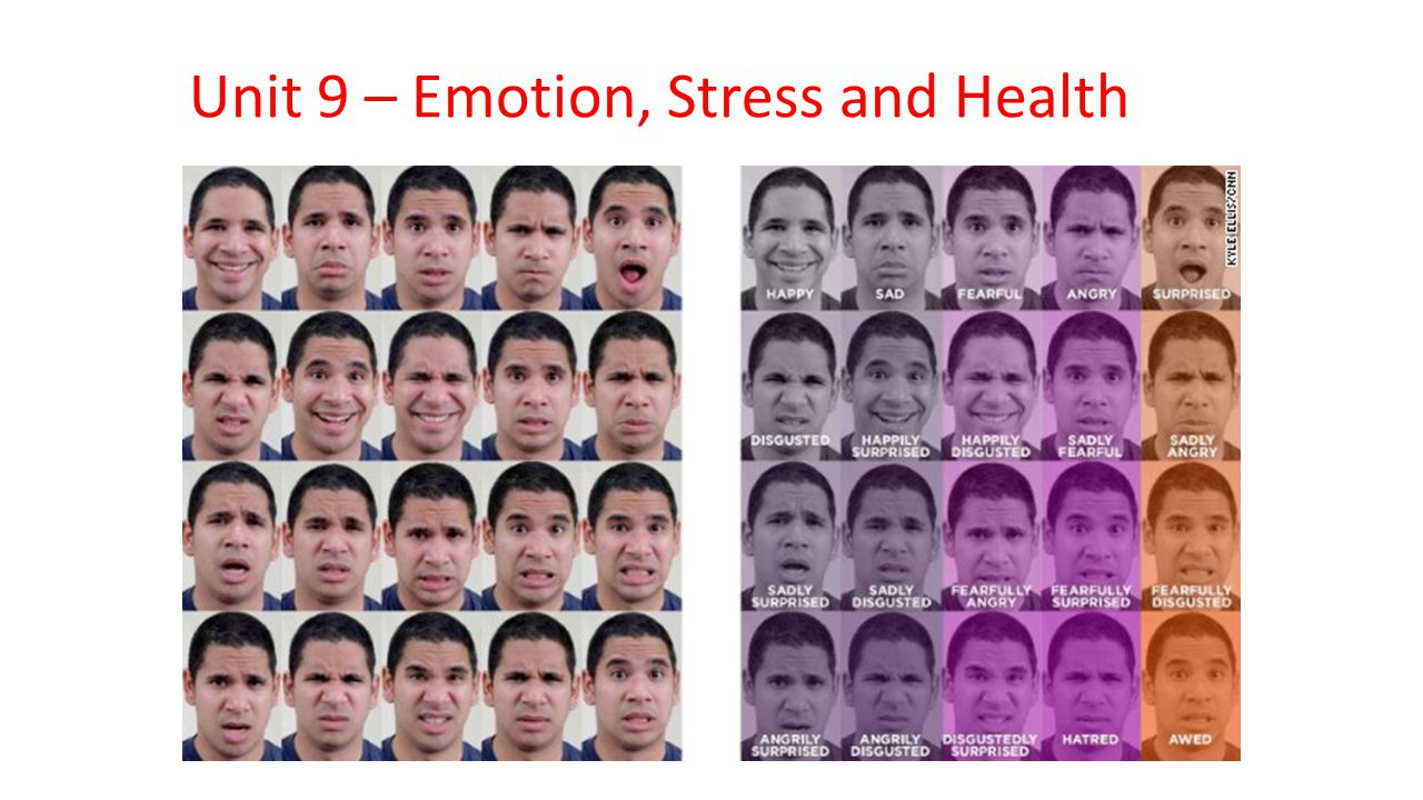 Unit 9 – Emotion, Stress and Health