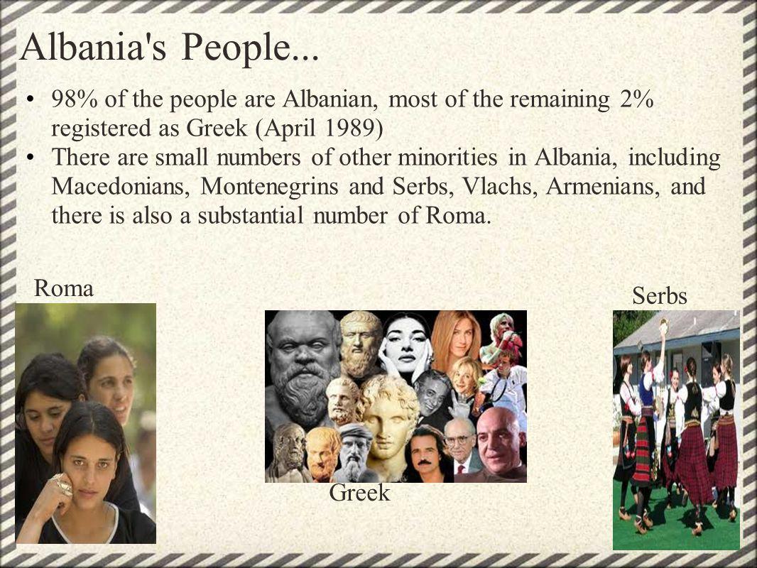 Albania s People...