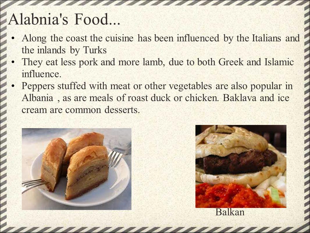 Alabnia s Food...