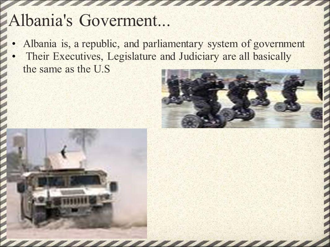 Albania s Goverment...
