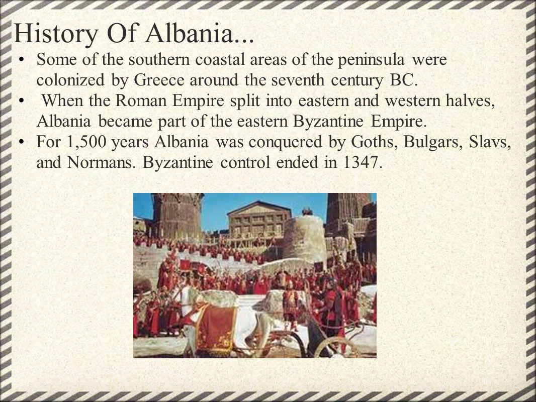 History Of Albania...